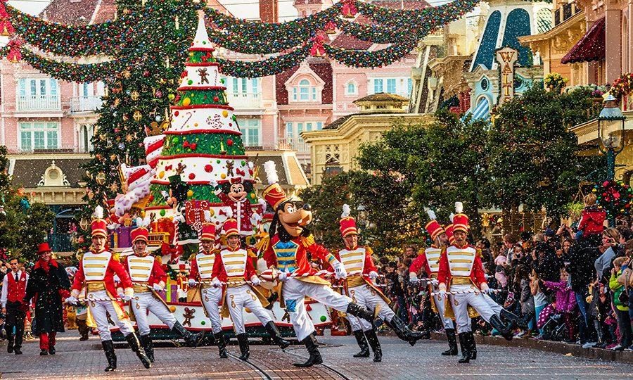 Disneyland-kerst-parade
